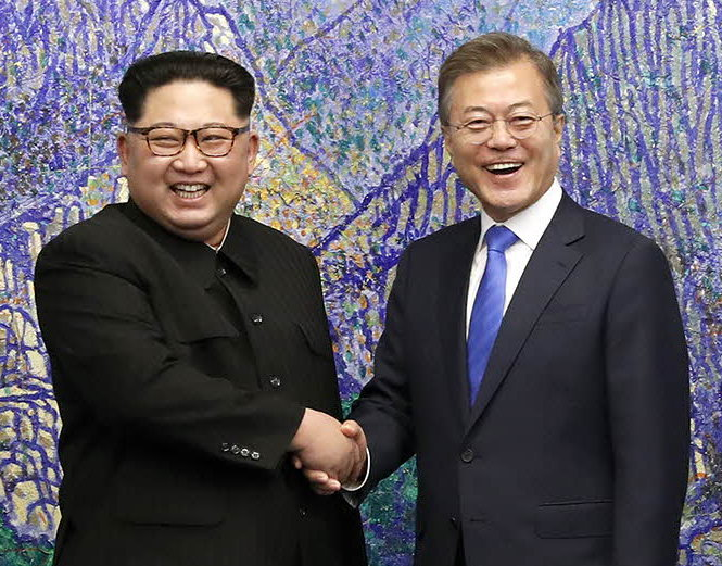 ¤ V2020 ¤ Topic Officiel - Page 2 2018_inter-korean_summit_01_cropped