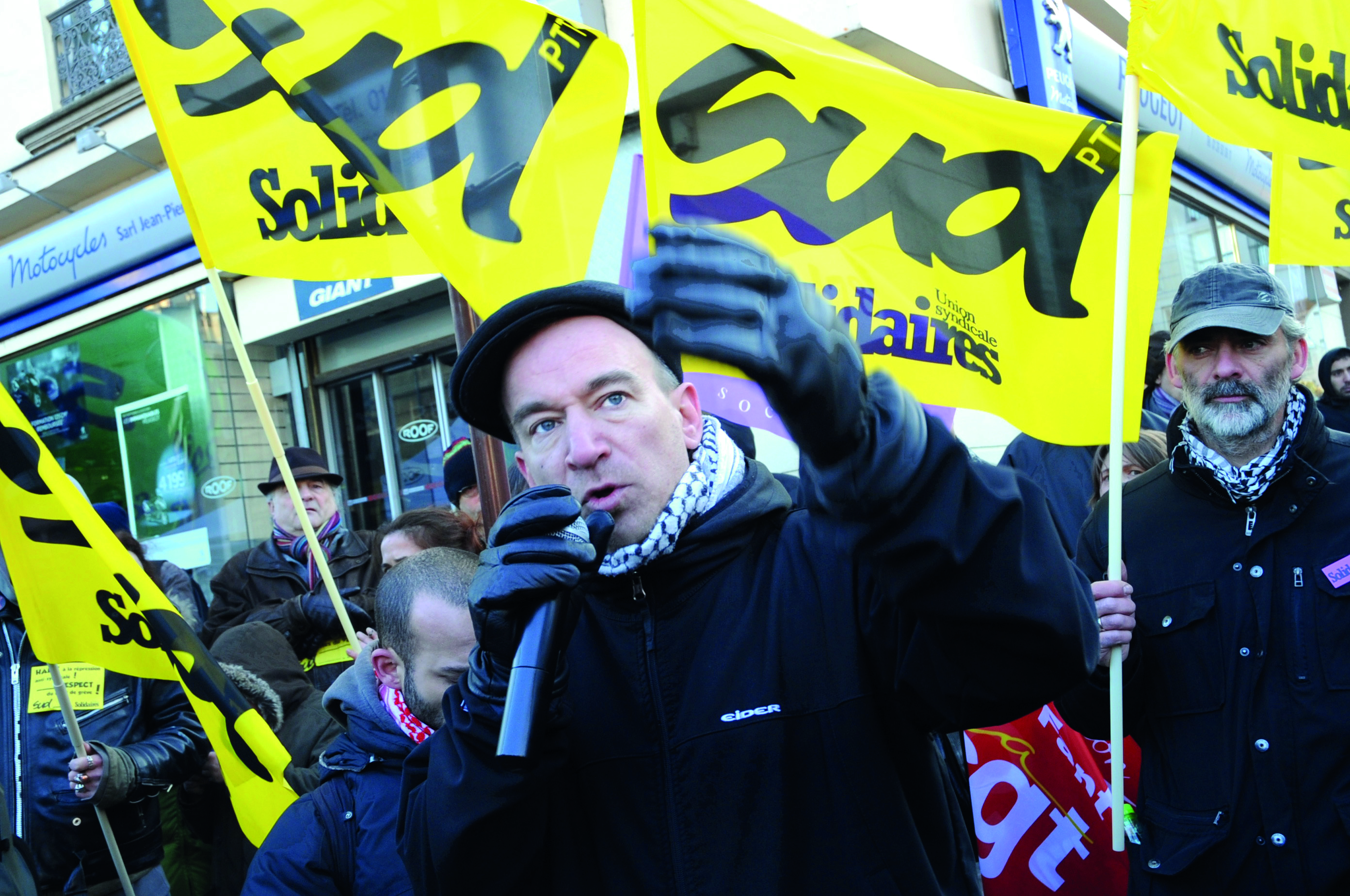 Après la révocation de Yann Le Merrer, construire un mouvement national contre la répression