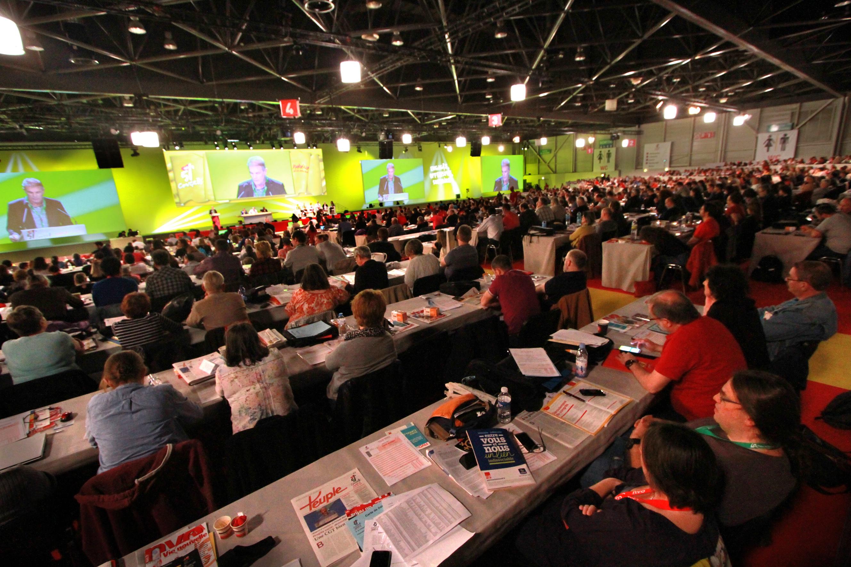 e37e53d5b56 Dernière journée du 51ème congrès de la CGT sous le signe de la  construction de la grève reconductible