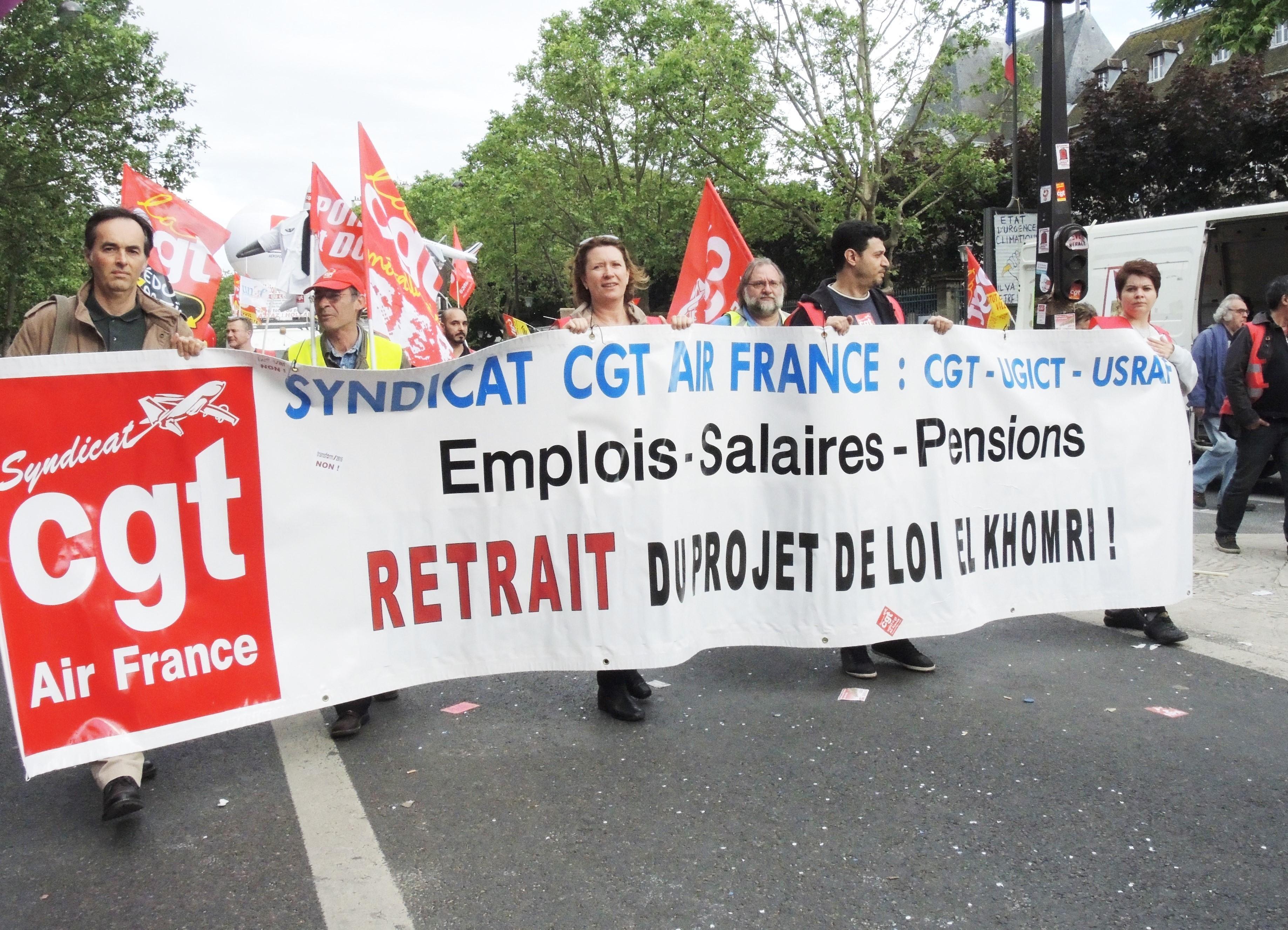 Les syndicats appellent à manifester contre la loi travail — Manche