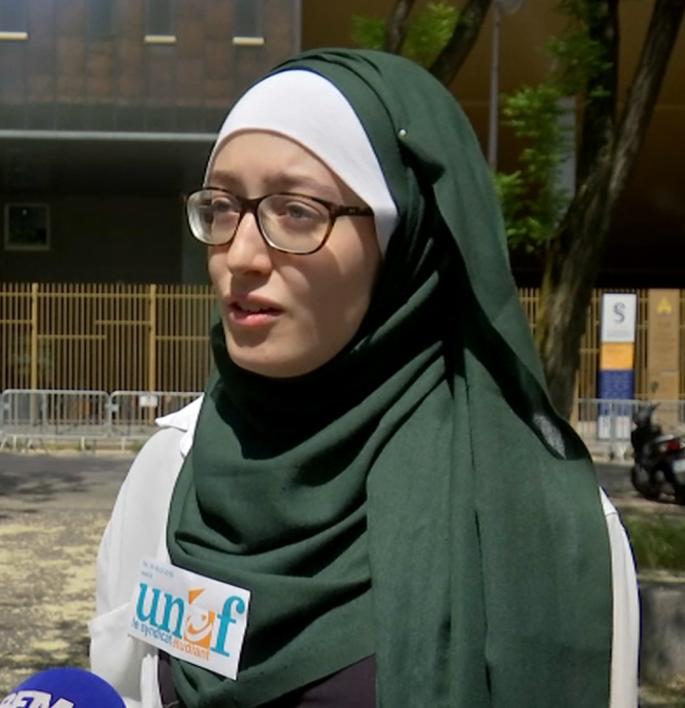 Solidarité avec Maryam Pougetoux, porte-parole de l'UNEF, victime d'un  déferlement de haine raciste   NPA