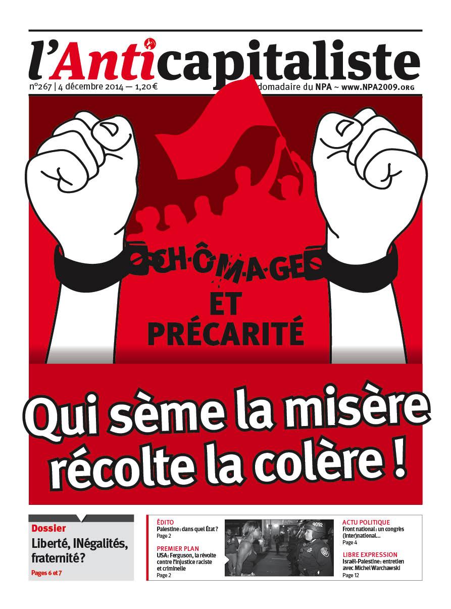Résistance au gouvernement bourgeois - Page 20 Antik267_la_une