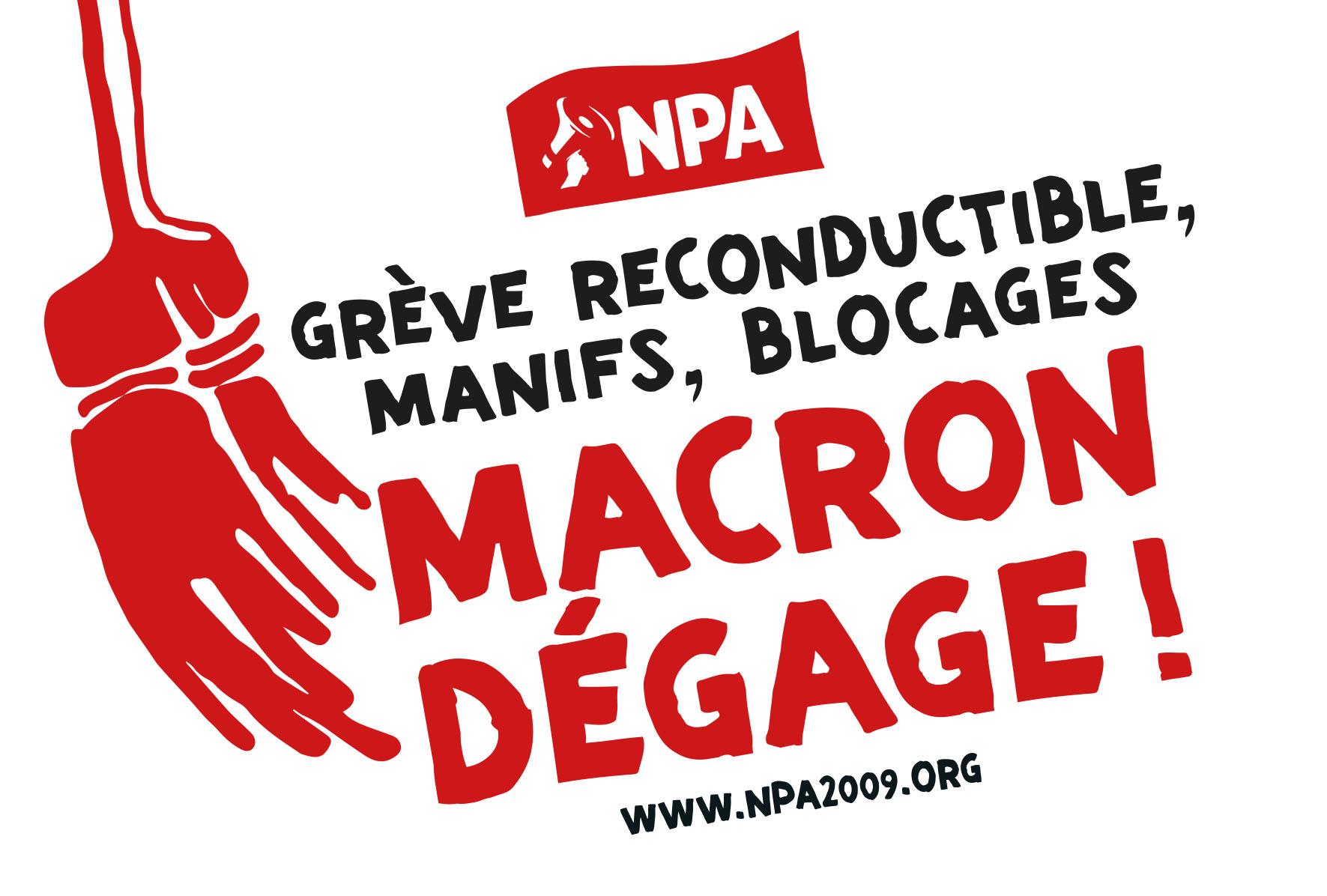 Conseil politique national : préparer le 5 décembre… et ses suites - NPA