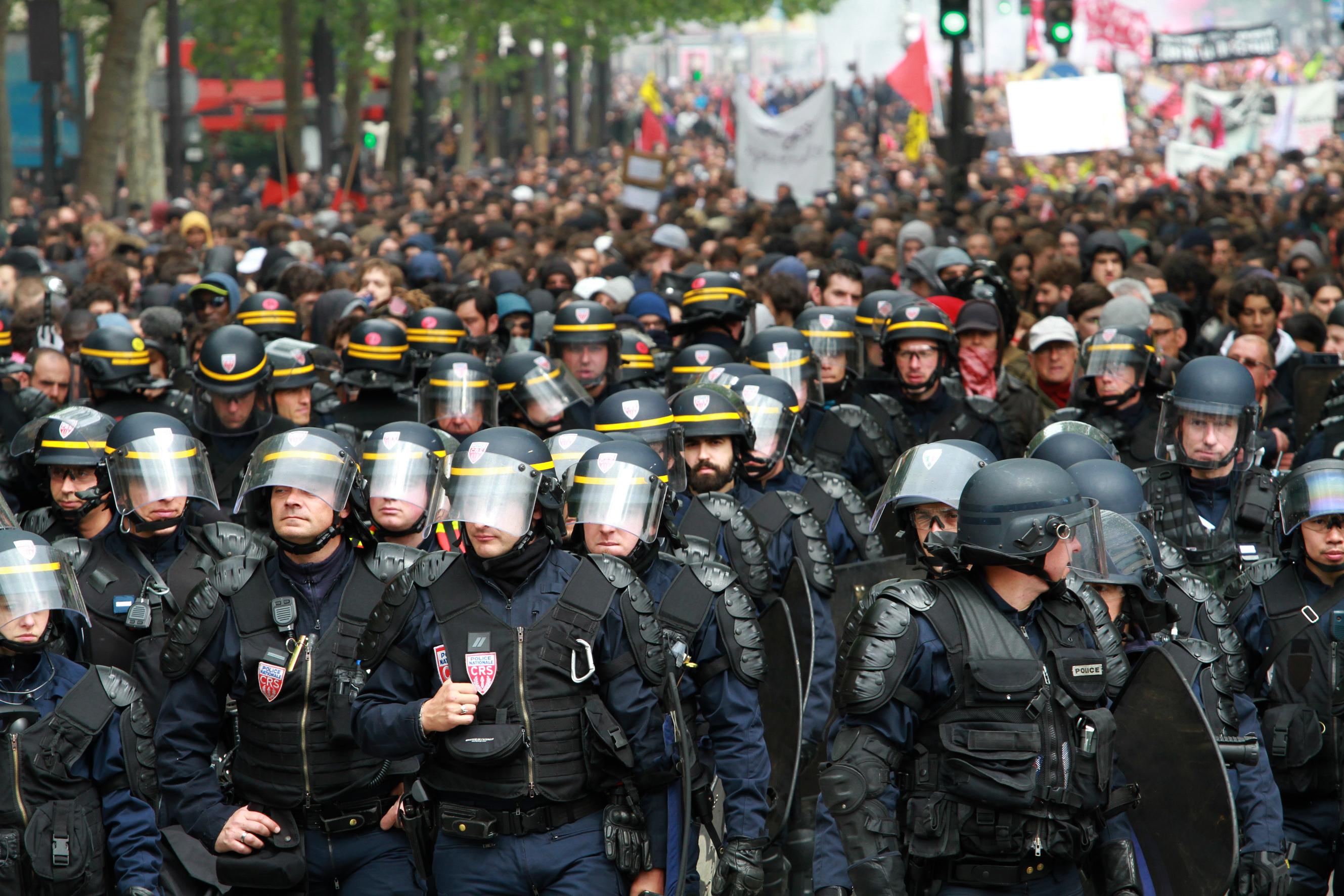 Sur la violence dans le mouvement sur la loi travail