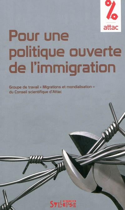 Essai pour une politique ouverte de l immigration par for Une fenetre ouverte paroles