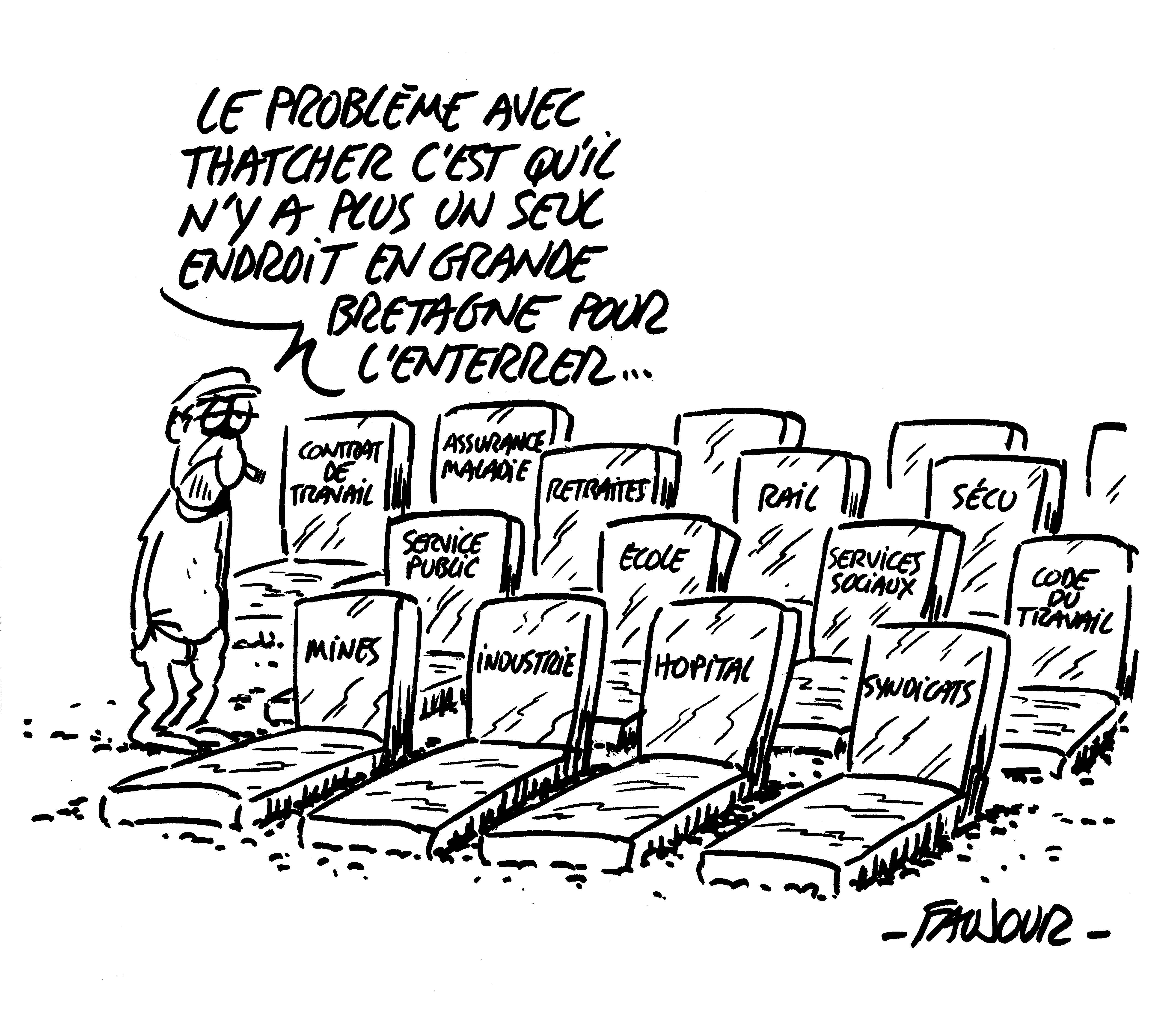 Dossier Les Annees Thatcher La Defense Inconditionnelle De Sa
