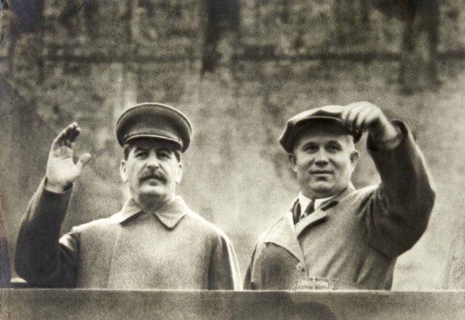 """Résultat de recherche d'images pour """"Staline et khrouchtchev"""""""