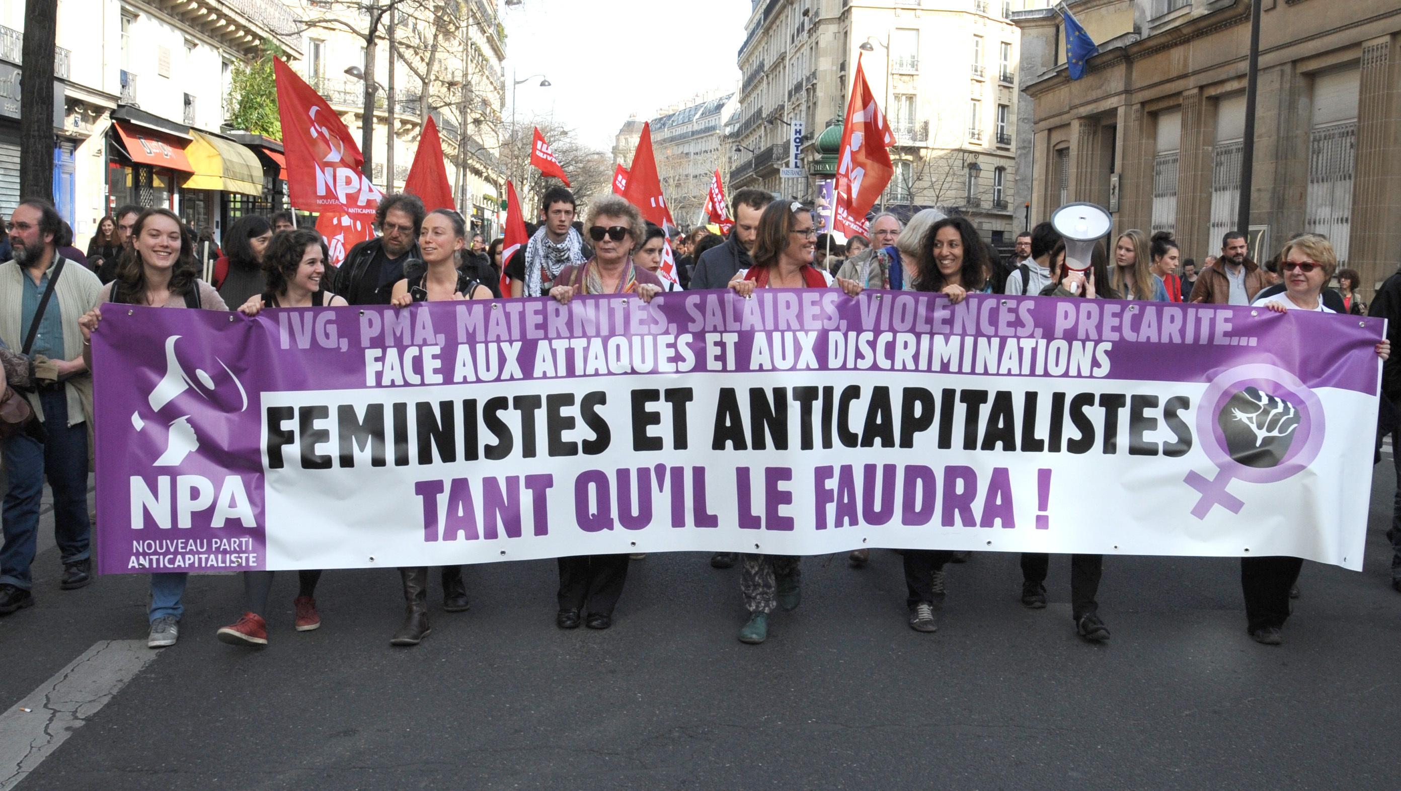 Fabulous Succès du premier week-end féministe national du NPA | NPA CZ49