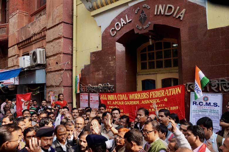 Inde : grève massive du charbon