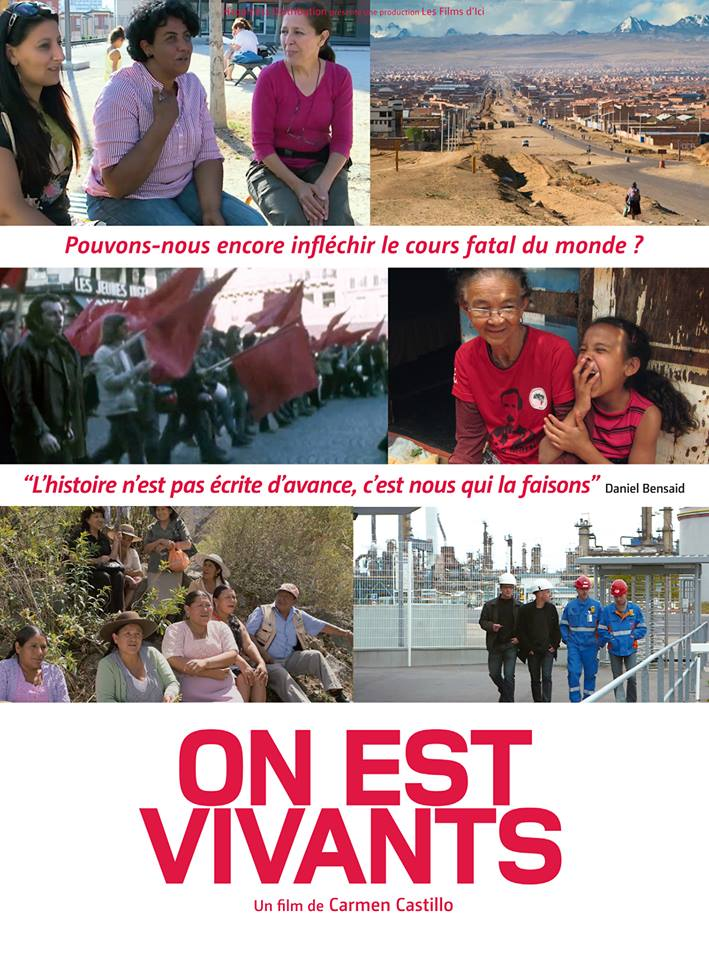 """On est vivants"", film de Carmen Castillo"