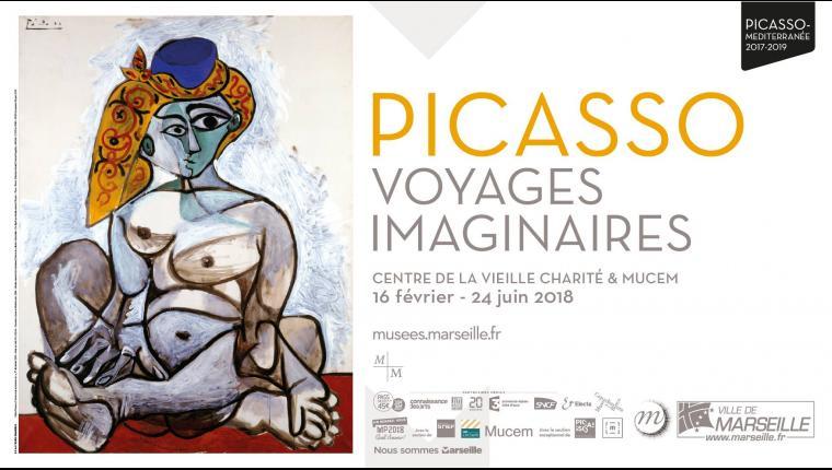 """Résultat de recherche d'images pour """"Pïcasso, voyages imaginaires"""""""