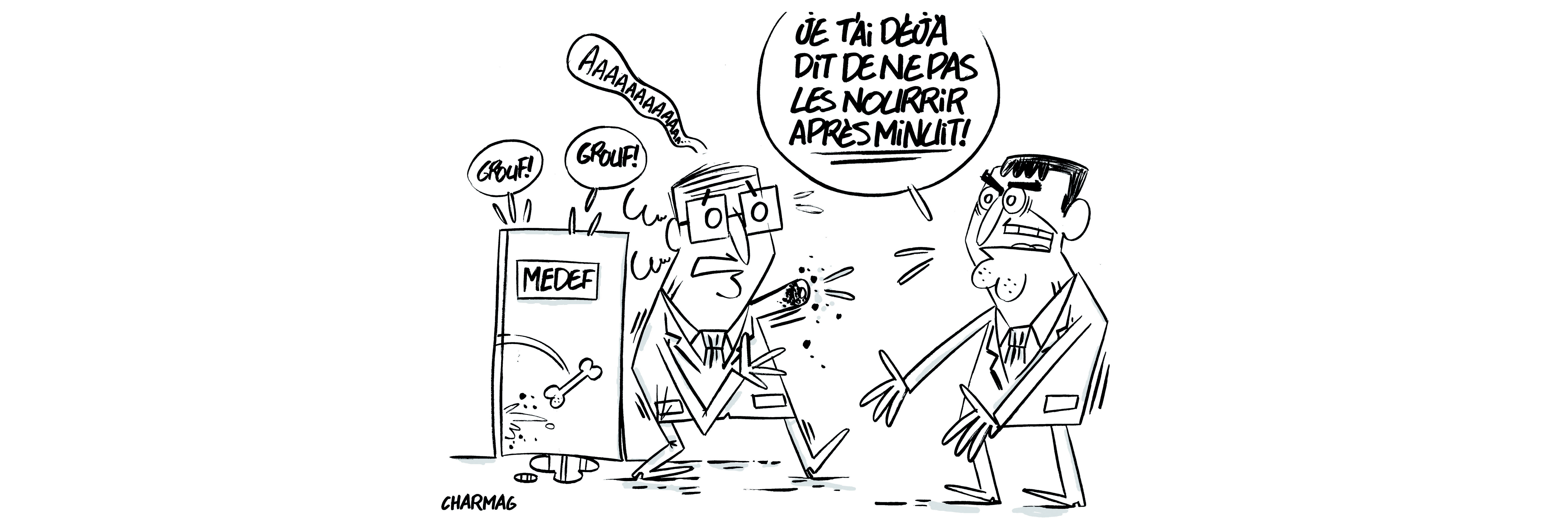Valls et le Medef : premier prix de comédie!