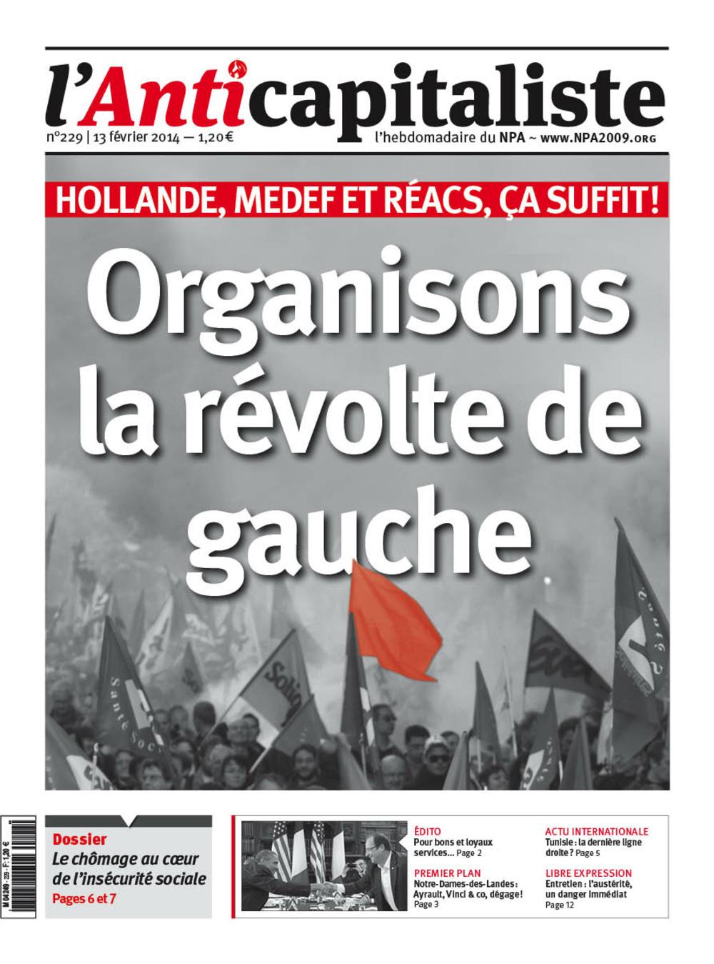 Résistance au gouvernement bourgeois - Page 15 Antik229_la_une_0