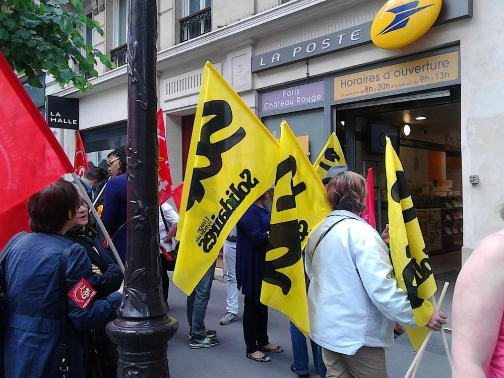 Echos des mobilisations à La Poste  NPA