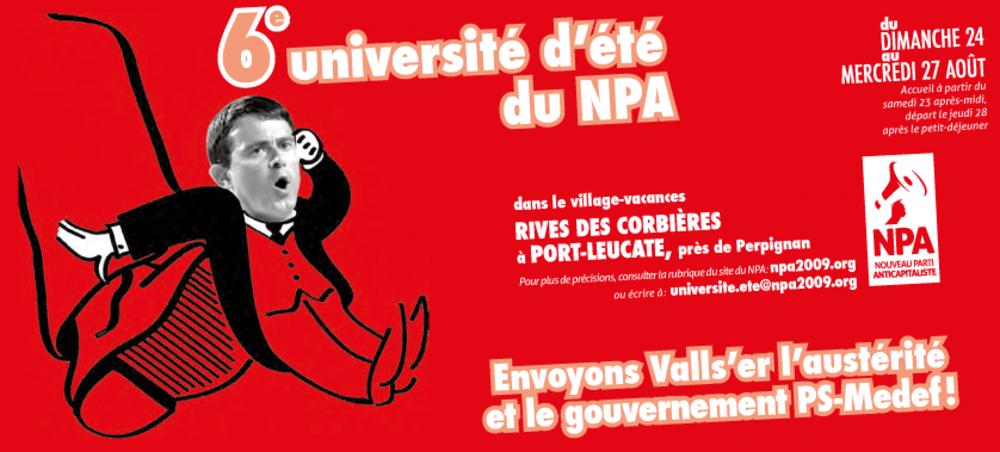 Université d'Eté NPA 2014 Logo-ue-2014